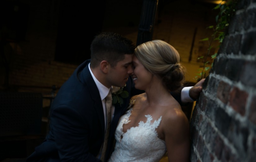Blog: Brent & Brandee Tie The Knot