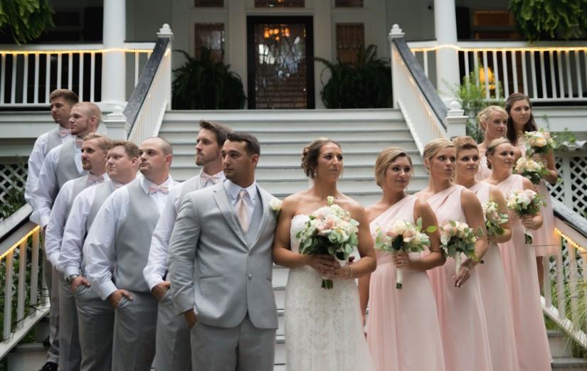 Joey + Taylor  Wedding at The MackeyHouse